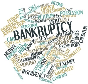 How does bankruptcy affect support?